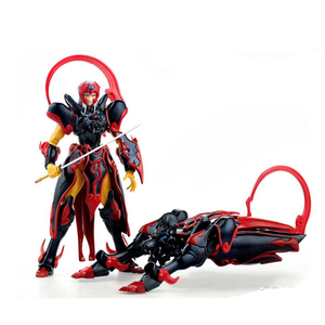 Image 3 - Tronzo Demoniaca Fit 18cm Dasin Model DM Shurato with Kuroki Gai SHF PVC Japanese Anime Action Figures Christmas Gift For Boys