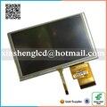 Original 6.2 pulgadas pantalla LCD HSD062IDW1 A00 A01 A02 con pantalla táctil para coche DVD GPS del coche navegación envío gratis