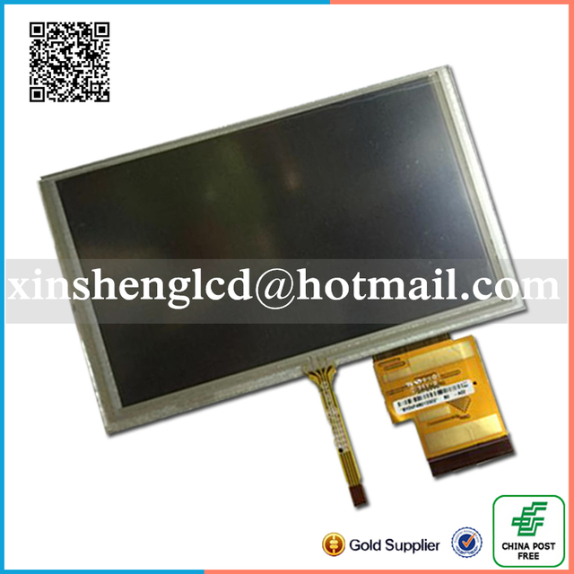 Original 6.2inch LCD screen HSD062IDW1 A00 A01 A02 With touch screen for DVD Car GPS navigation Free Shipping