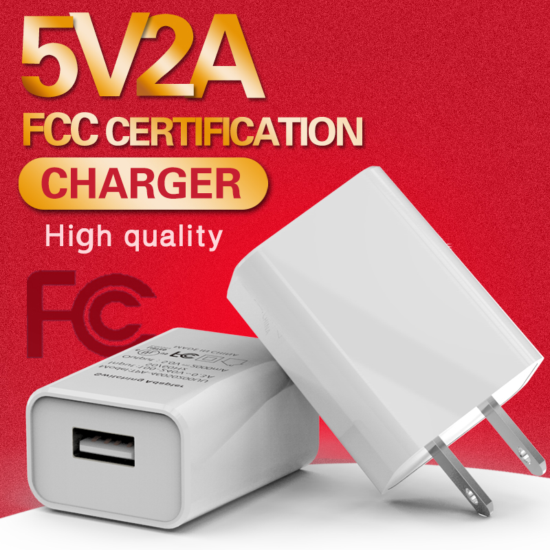 5V 2A 2000mAh Universal USB Fast Charger Travel Wall US Charger Mobile Phone Fast Charging 220v Power Adapter for Xiaomi Huawei