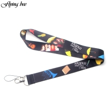 Flyingbee How I Met Your Mother Lanyards For Keys ID Card Pass Gym Mobile Phone USB Badge Holder Hang Rope Lariat Lanyard X0079