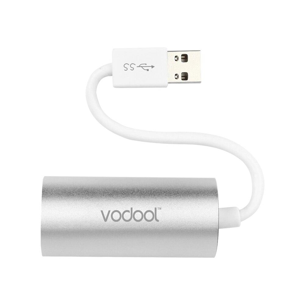 En Alliage d'aluminium USB 3.0 à RJ45 Gigabit Ethernet LAN Adaptateur 1000 Mbps Super Vitesse RJ-45 Dongle pour PC Portable Vista/XP/Mac OS