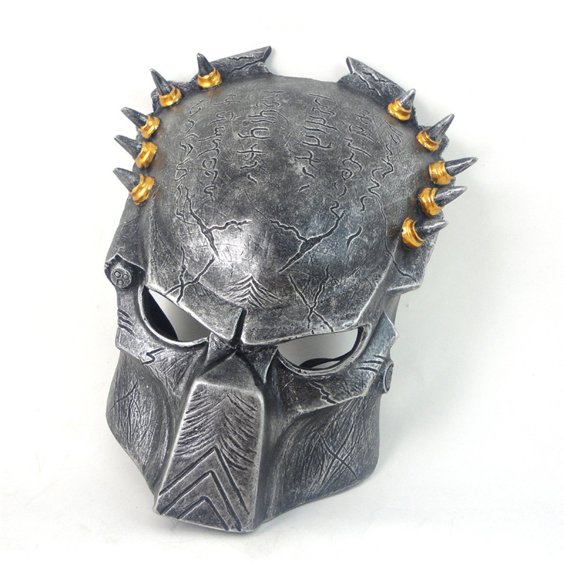 Halloween Predator masquerade decoration party Cosplay Adult toys art collection prank avpr Holiday gift Mask of