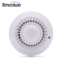 MD 2100R 433MHz Wireless Smoke Detector Fire Alarm Sensor For Meian Focus Alarm System ST VGT
