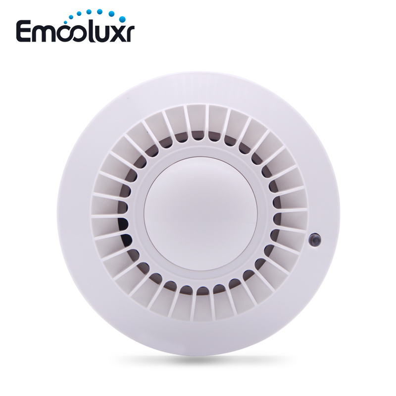 MD-2100R 433MHz Wireless Smoke Detector Fire Alarm Sensor For Meian Focus Alarm System ST-VGT, ST-IIIGW,FC-300,ST-IIIB