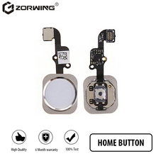 1 PCS 4.7/5.5 inch Home Button with Flex Cable for iPhone 5S 6 6S Plus Black/White/Gold Home Flex Assembly repair parts