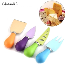 4PCS/set cheese Color handle knifecutters Baking tool Cheese pizza knife