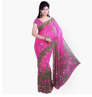 online shop bollywood women india saree kaftan sari dress clothing
