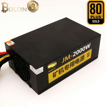 2000W ATX Computer Power Supply Asic Bitcoin Mining Ethereum XMR Coin  For GTX 1080 1060 RX470 480 570 R9 380 P104 106 analiz ceny na bitcoin ethereum vialyi rost