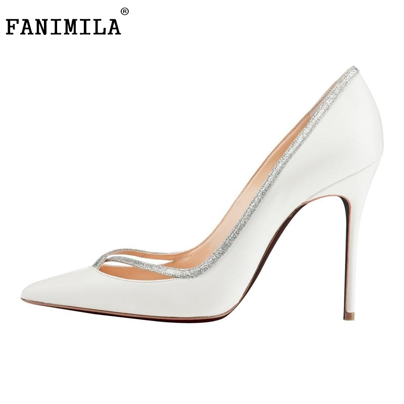Women High Heel Shoes Pointed Toe Thin Heels Pumps Office Ladies Shoes Woman Dress Footwear Zapatos Mujer Size 35-46 B165 comfy women pointed toe square high heels office shoes woman flock ladies pumps plus size 34 40 black grey high quality