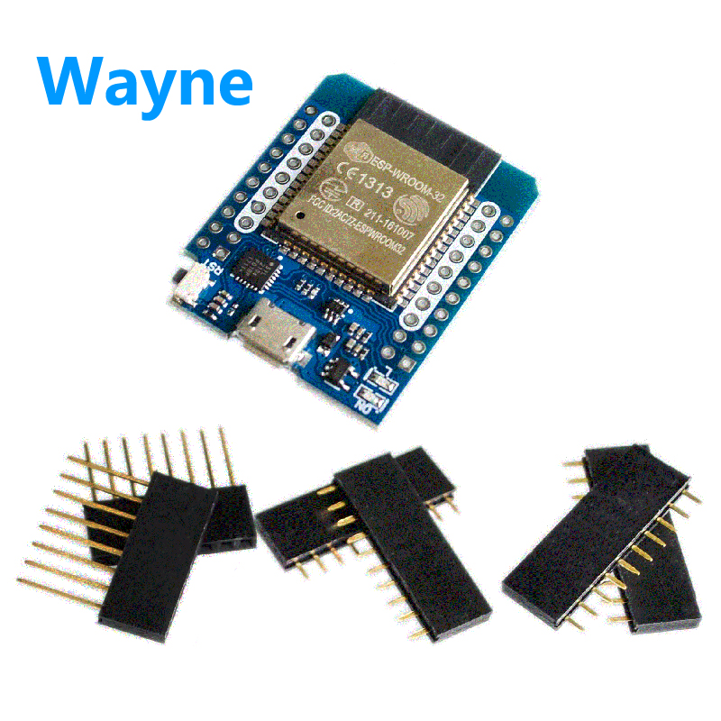 D1 mini ESP32 sp-32 WiFi+ bluetooth Internet of things development board based on ESP8266 2 and 1 dual core CPU full function