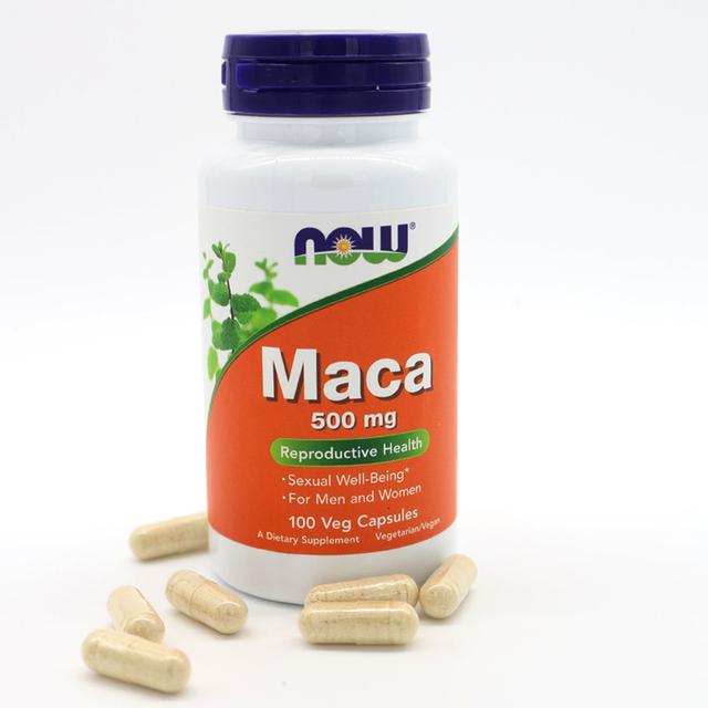 AGORA Alimentos Maca 500 mg, 100 Cápsulas