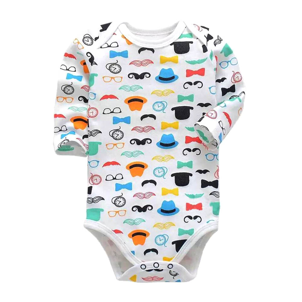 Infant Boys Clothes Babies Girls   Romper   Newborn Toddler 3-24 Months Long Sleeve Baby Body One Piece   Rompers