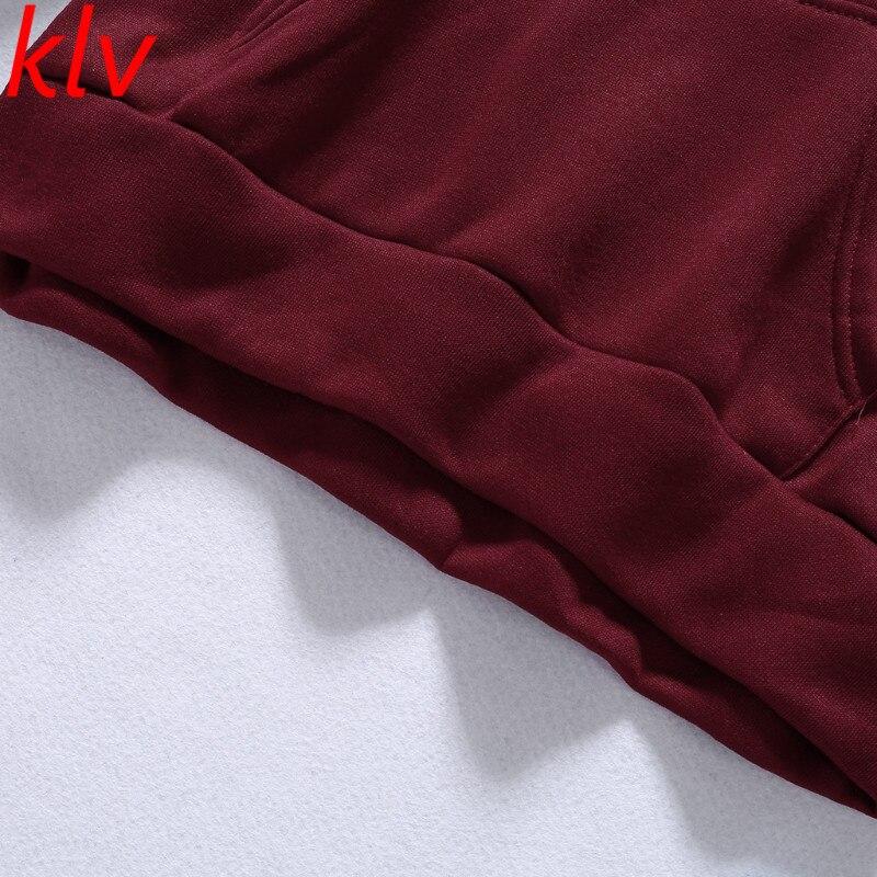 Frauen Fleece 2 stücke Trainingsanzug Set Hoodie Und Jogginghose Sportwear Anzug