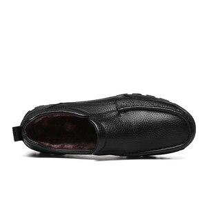 Image 5 - VANCAT zapatos de negocios de piel auténtica para hombre, calzado Formal hecho a mano, de alta calidad, para nieve, talla 38 48