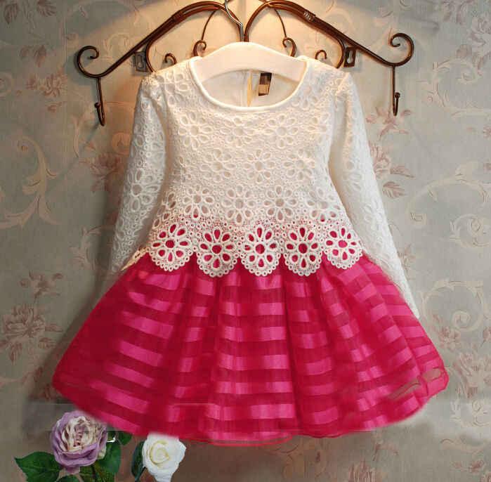 Платье Для Девочек От Года Вязание