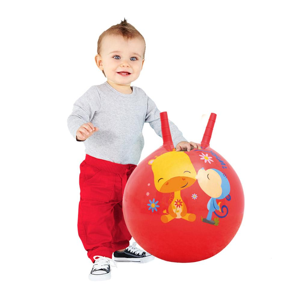 Childrens Hopper Jumping Ball Thickening Childrens Inflatable Toy Ball Elastic Expansion Ball Baby With Foot Pump Suit Activating Blood Circulation And Strengthening Sinews And Bones Mother & Kids
