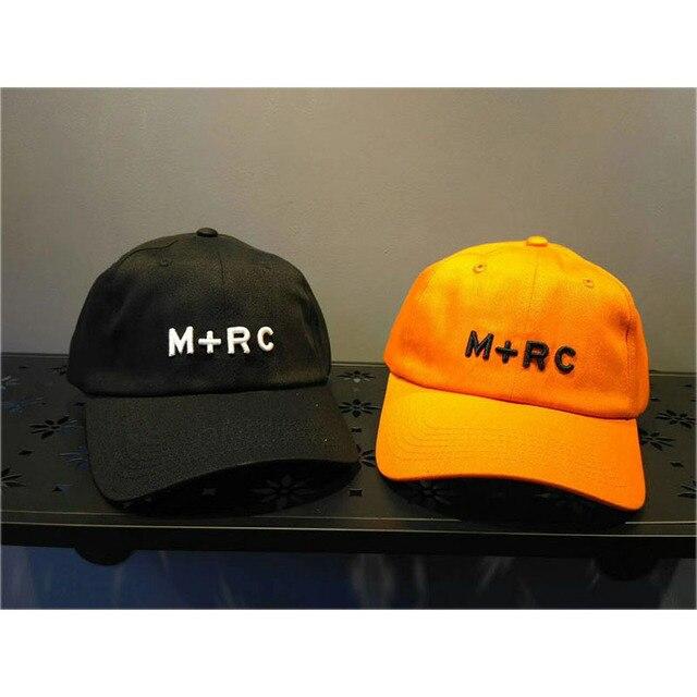 c2144b4ea6f Places+Faces Hat Man Women Couple Lovers Casual Embroidery Adjustable M+RC  Baseball Cap Orange Black White Places+Faces Cap