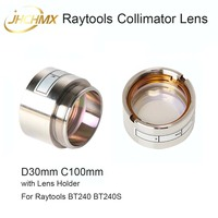 JHCHMX Raytools Collimator Lens D30 C100mm With Lens Holder for 0 4000W BT240S Fiber Laser Head Bodor/Glory Star Laser Machine