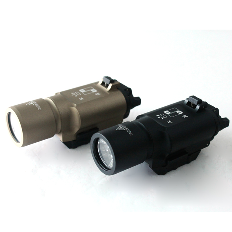 Tactical Torch CNC Making X300 Ultra LED Weapon Light for hunting - Free shipping