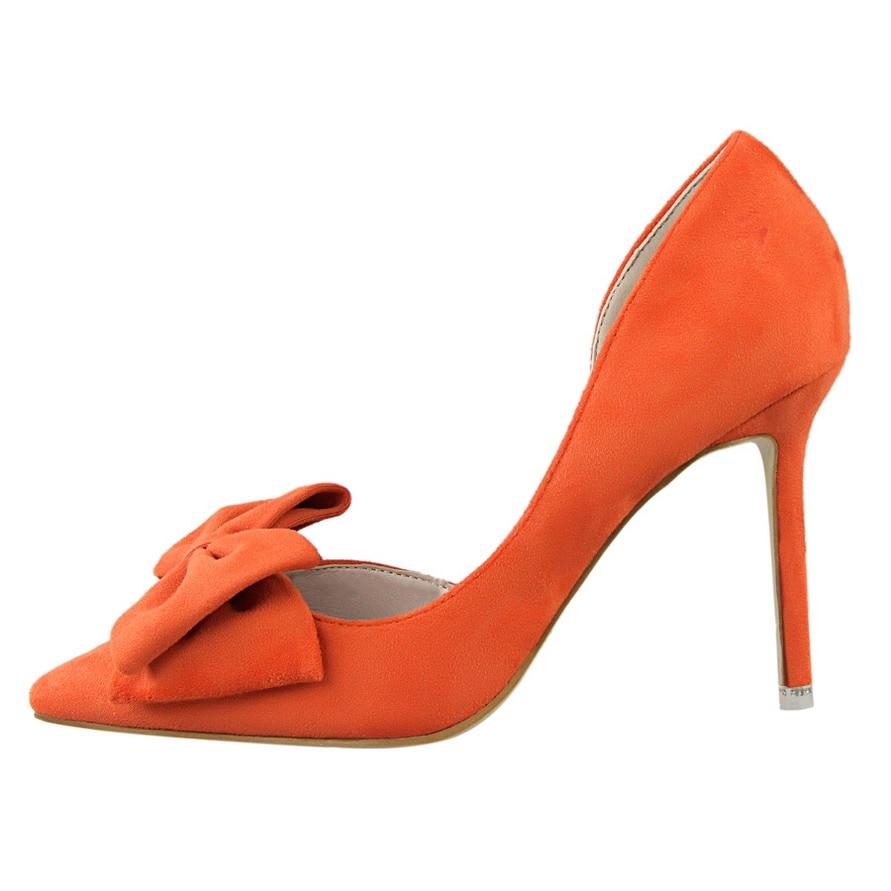 gray Heels Marca Heels {d Fiesta pink amp; La red De Alto Mujer Heels Estilo Zapatos Superestrella yellow Las Henlu} Tacón orange Heels Moda Cruz Black Bombas Correa Heels Pajarita Doble Mujeres Heels xqB01xw