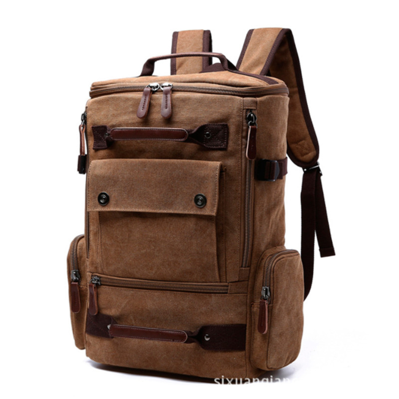 B0020 Men Laptop Backpack 15 Inch Rucksack Canvas School Bag Travel Backpacks for Teenage Male Notebook Bagpack Computer Knapsac men laptop backpack 15 inch rucksack canvas school bag travel backpacks for teenage male notebook bagpack computer knapsack bags