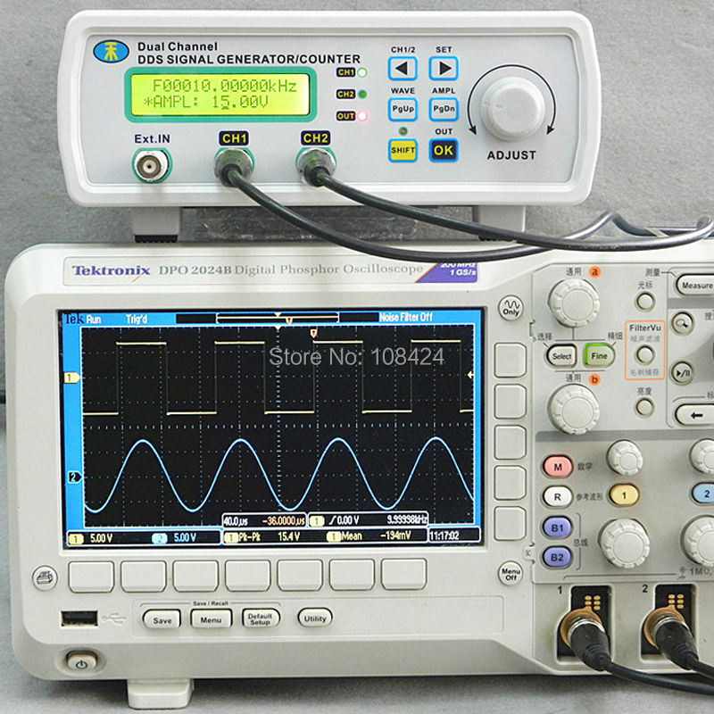 все цены на MHS-5200A 50mA 200MSa/s 20MHZ Low Power Sine Arbitrary Waves Dual-channel DDS Signal Generator онлайн