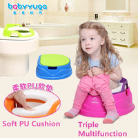 Colorful Multifunction Baby Potty Kids Carry Toilet Chair With Wheel Portable Potty Baby Travel Potties Toilet