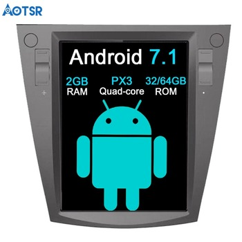 Aotsr Android 7.1 Tesla style Car No DVD Player GPS Navigation For Subaru Forester 2013 2014 2015 2016 2017 head unit radio