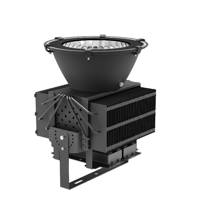 Les puces 400 w Cree ont mené l'éclairage industriel de AC85-265v de lampe de stades pour remplacer l'halogénure en métal traditionnel et la lumière à haute pression de sodium