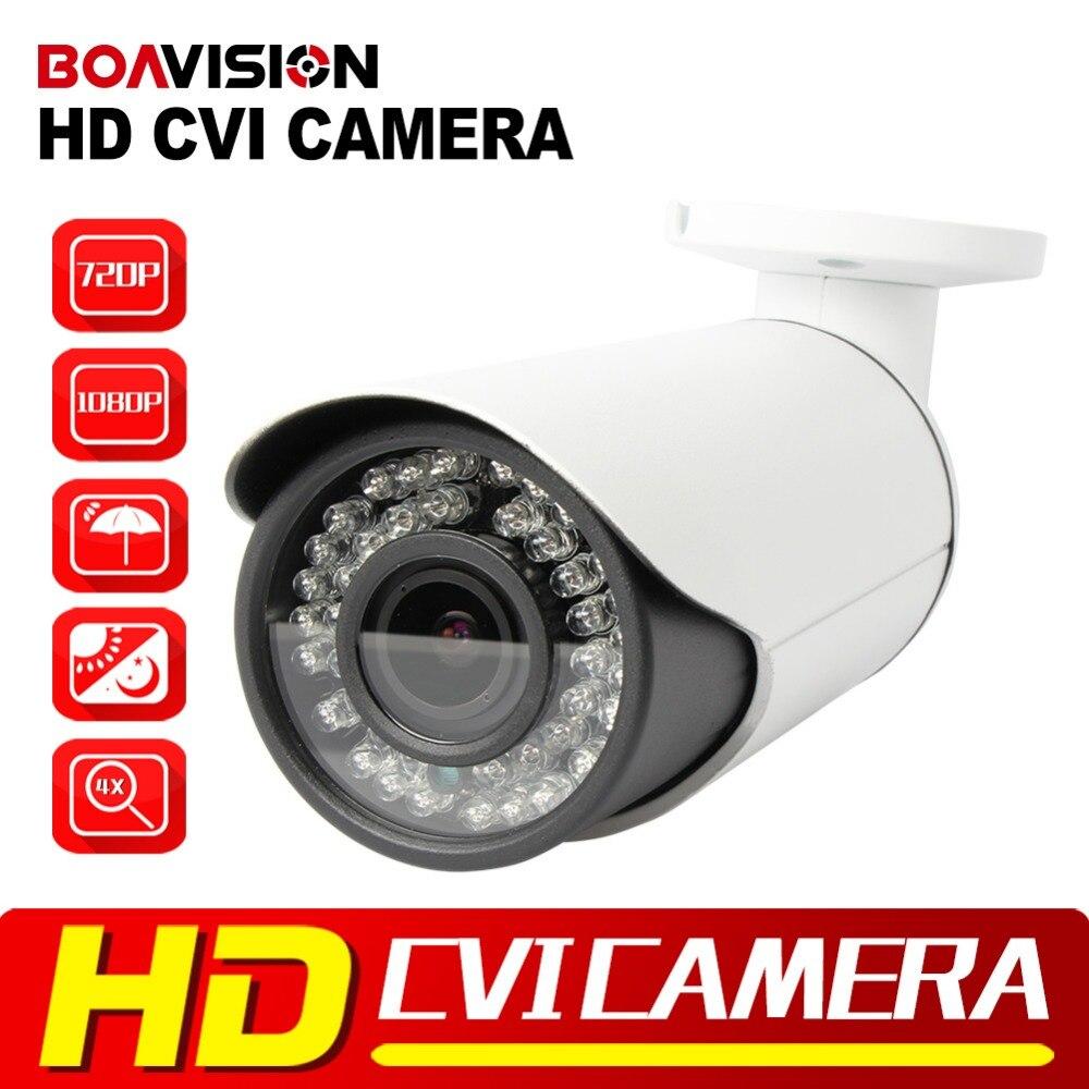 2MP HD CVI Camera 720P IR Bullet Weatherproof 40m IR 2.8-12MM Lens With IR CUT Outdoor Security CCTV 1.0MP HDCVI Cameras 1080P 1 2 9 1megapixel 720p 8mm lens 2 super ir led hd cvi camera