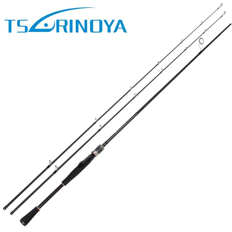 все цены на TSURINOYA LEGEND 2 Tips Spinning/Casting Fishing Rod 2.1m 2 Section M/MH Portable Carbon Fiber Lure Fishing Rod Vara De Pescar онлайн
