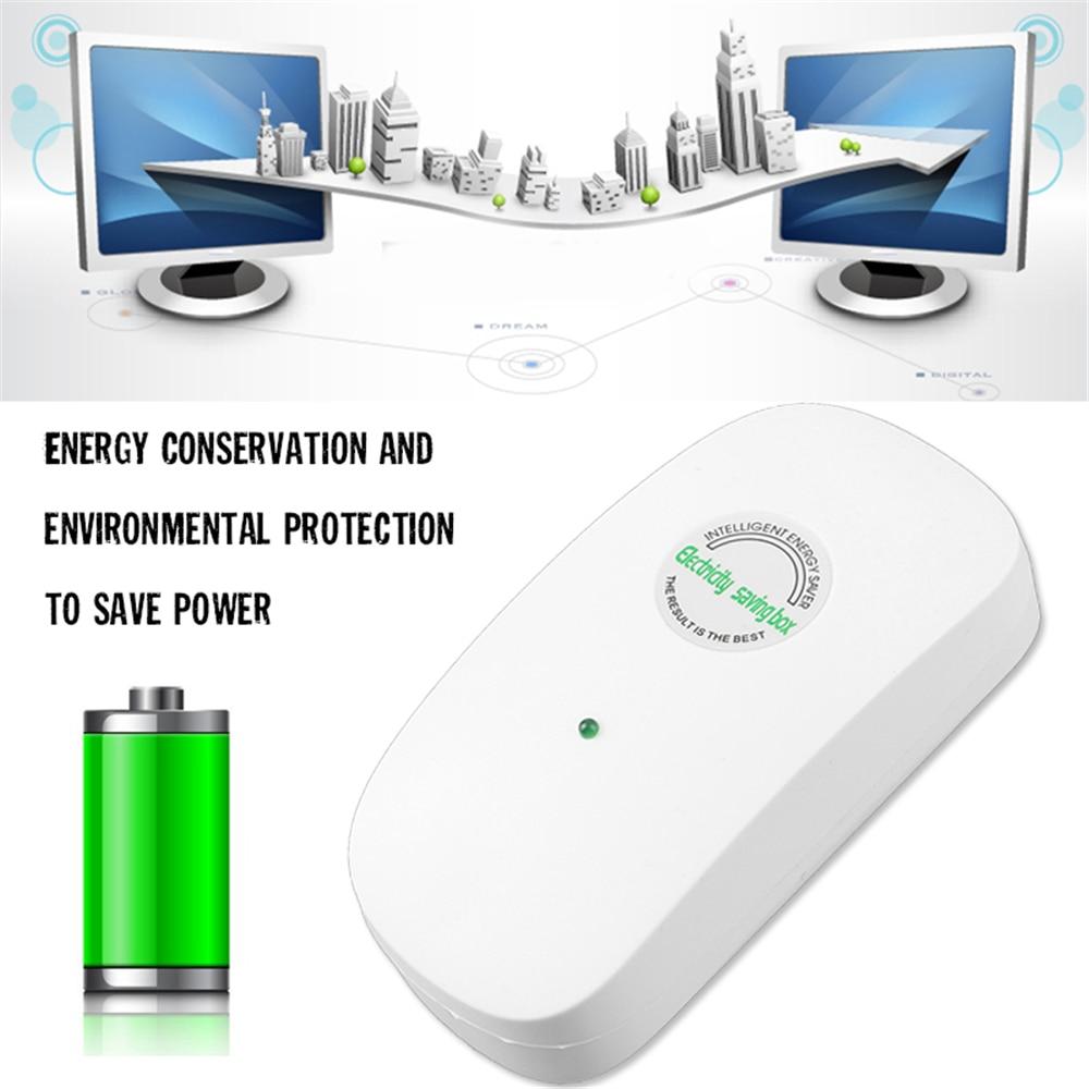 US $3 5 20% OFF|Amzdeal Save energy 50Hz 60Hz 90 250V Home Intelligent  Power Electricity Energy Saver Box Saving EU/UK Plug Energy Saving Device  on