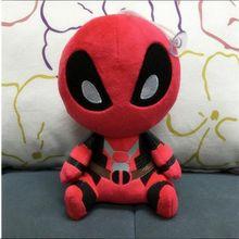 20 см Marvel Movie X-man Deadpool кукла мягкая Человек-паук плюшевая кукла игрушка Brinquedo детские игрушки подарок