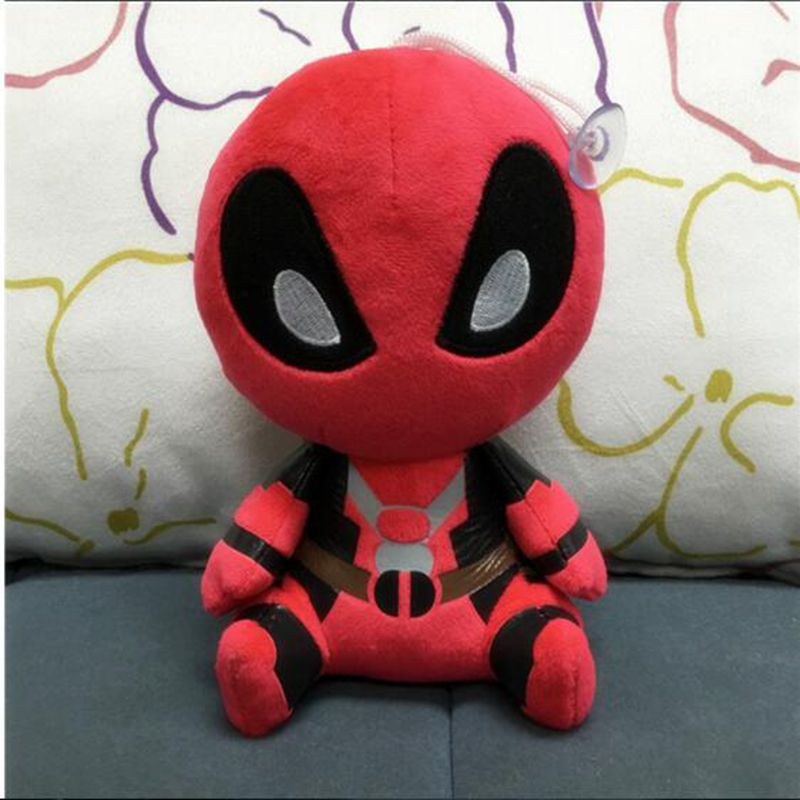 20cm Marvel Movie X-man Deadpool Doll Soft Spider man Plush Doll Toy Brinquedo Kids Toys Gift