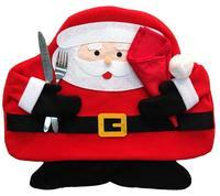 크리스마스 장식 산타 클로스 식품 매트 더블 레드 냅킨 크리스마스 장식품 테이