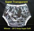 Free transporte fuubuu2201-transparent-xxl-2pcs fraldas para adultos fraldas descartáveis não calções incontinência calças de plástico transparente de pvc
