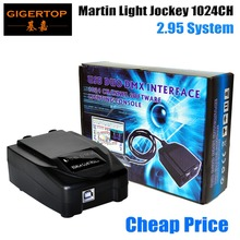 Cheap Price Martin Light Jockey USB 2.95 DMX Interface 1024 Channel Software Lighting Console USB-DMX PC 3D Lighting Effect Live(China (Mainland))