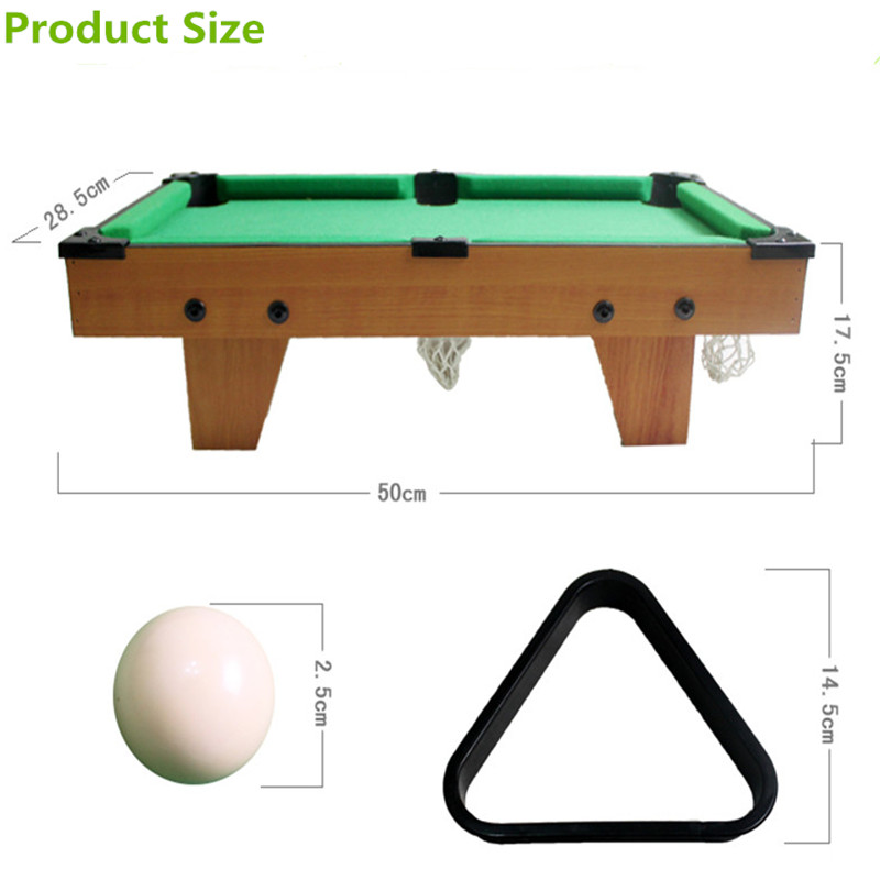 High Grade Billiard Table Mini Snooker Ball Toys Children Snooker Pool Table  Parent Child Toys For Gifts In Snooker U0026 Billiard Tables From Sports ...