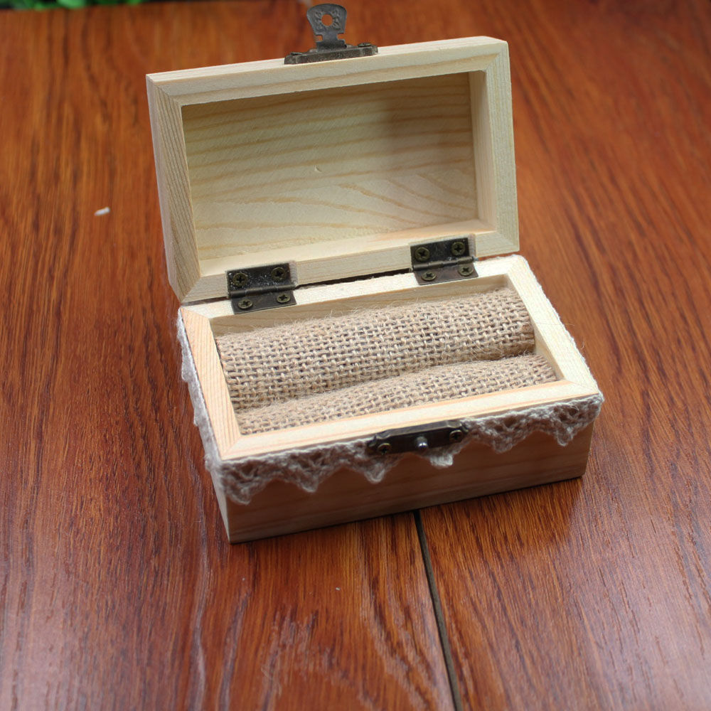 Rustic wedding ring bearer bearer box personalized for Wedding ring holder box