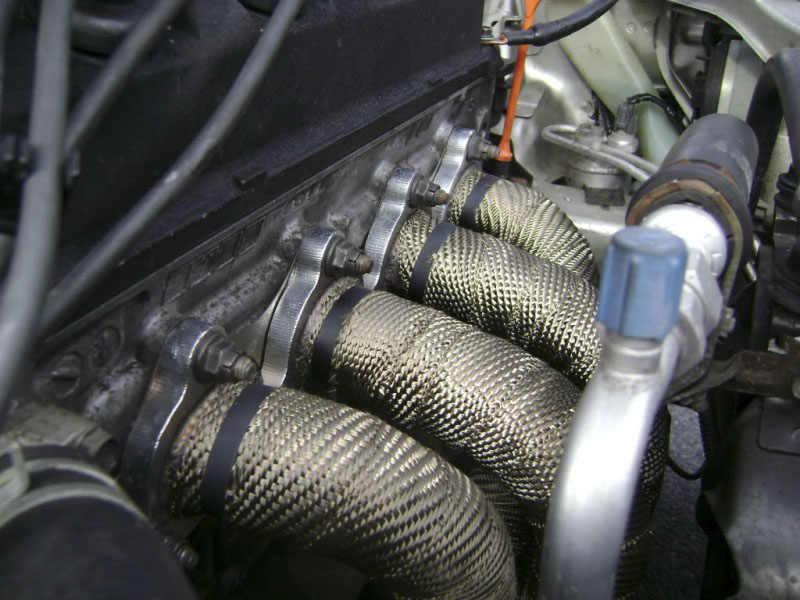 "Pqy-2 ""× 5 計熱ラップ、ヘッダワープ、排気絶縁ワープ、排気管ワープ + 6 個 20 センチメートルネクタイ PQY1805"