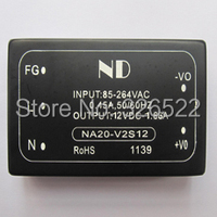 Isolated 220V AC Step Down To 12V DC Converter 20W Ac Dc Modules Voltage Regulator