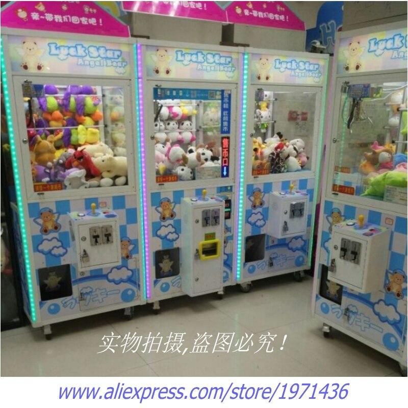 Machine de jeux d'arcade à pièces de monnaie poupées en peluche jouets grues Machine à griffes pour centres commerciaux