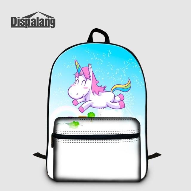 Custom Your Own Design Logo Backpack To School Bag Cute Unicorn Cat Animal  Laptop Bagpack For Teenager Girl Women Stylish Rugtas a87d789fa8d74