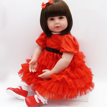 Dollhouse Reborn Doll Lifelike Bebe Reborn Handmade Baby Toy Girl Silicone Babies Special Gift Doll Reborn Babies brinquedos bjd кукла luxury china brand bjd 10 reborn baby reborn baby doll 026