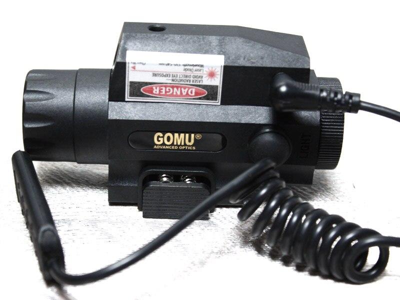 2015 GOMU 2 in1 taktička svjetiljka i crveni laserski sustav - Lov - Foto 4