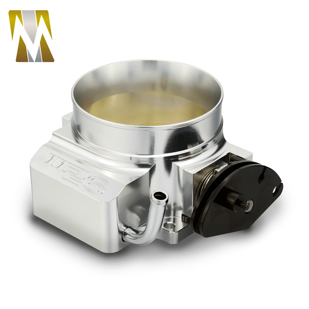High Quality 92mm Throttle Body Performance Billet For Chevy GM GEN III LS1 LS2 LS6 Flow Aluminum Intake Manifold