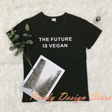 """The Future is Vegan"" women shirt"