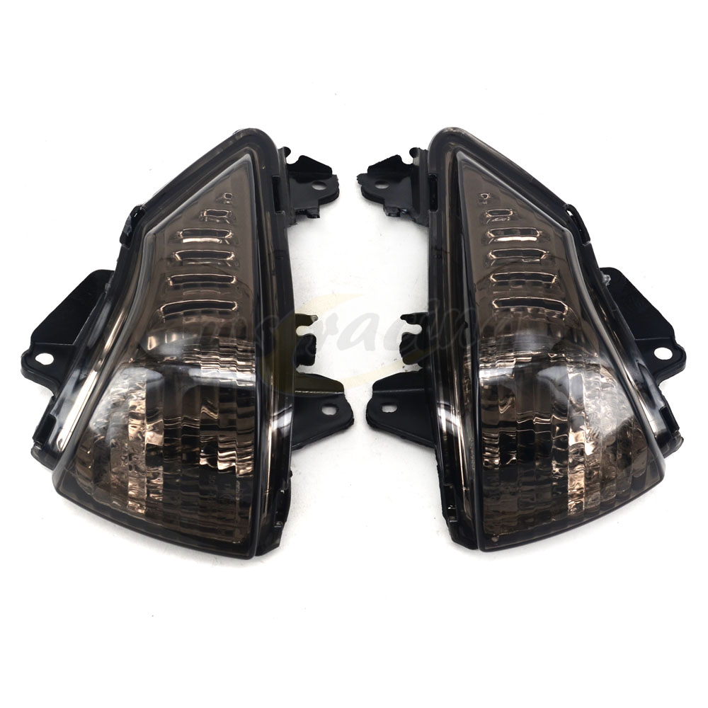 цены Motorcycle Turn Signals Blinker Indicator Winkers Light Housing Lens For KAWASAKI ER6N ER-6N ER6F ER-6F 2009-2011 2009 2010 2011