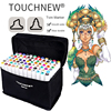 TOUCHNEW 30 40 60 80 Colors Alcohol Based Markers For Manga Sketch Markers Set Material For
